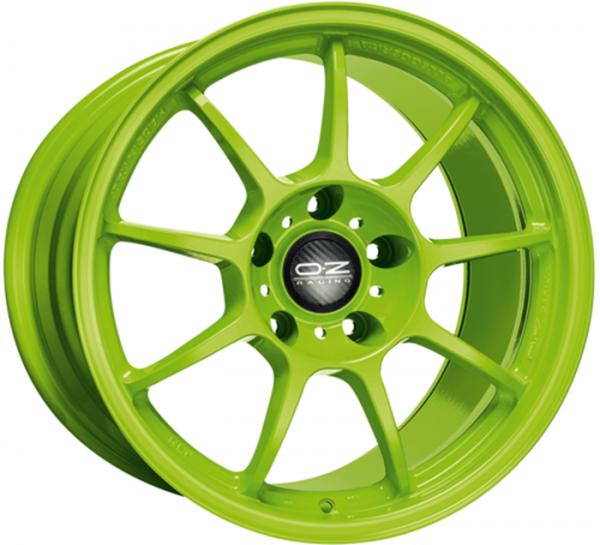 ALLEGGERITA HLT ACID GREEN Wheel 11x18 - 18 inch 5x130 bold circle