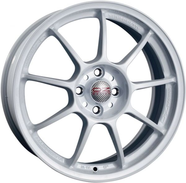 ALLEGGERITA HLT WHITE Wheel 9.5x18 - 18 inch 5x120 bold circle