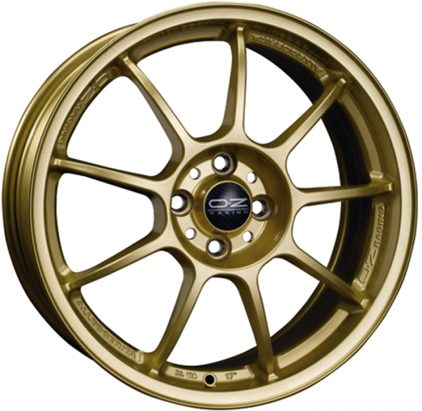 ALLEGGERITA HLT RACE GOLD Wheel 9x18 - 18 inch 5x120 bold circle