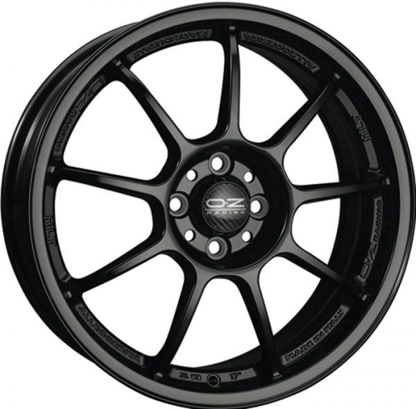ALLEGGERITA HLT MATT BLACK Wheel 8.5x18 - 18 inch 5x114.3 bold circle